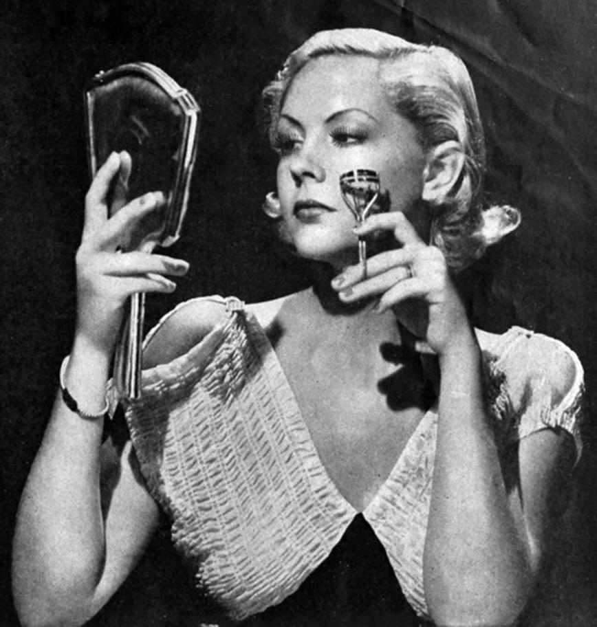 1950's eyelash curlers