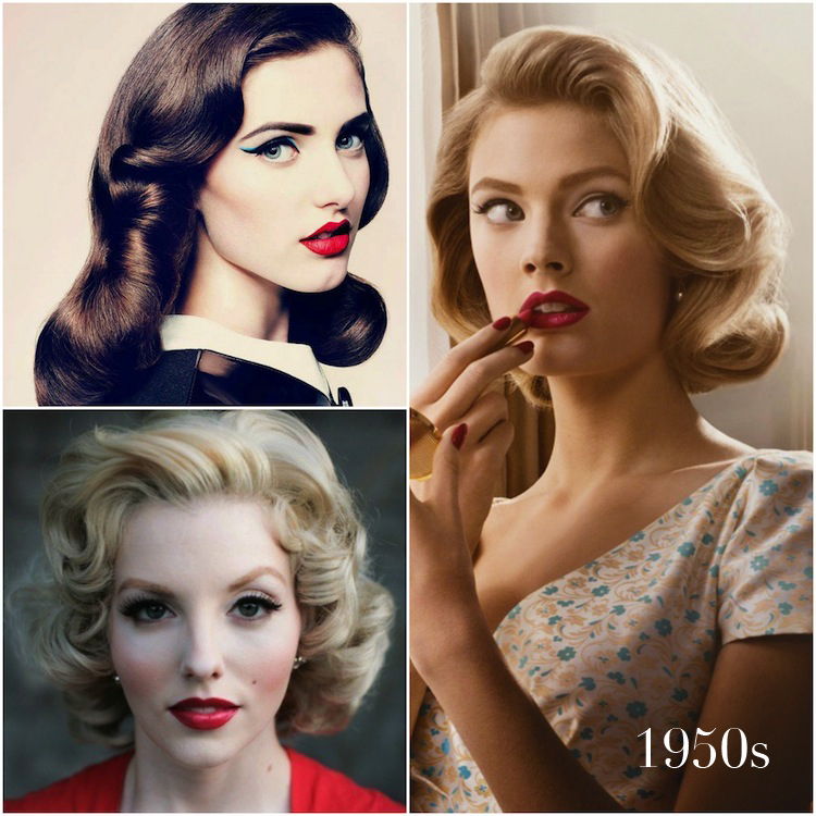 Vintage Wedding Hair And Makeup : Gallery For > 1950s Housewife Hair And Makeup