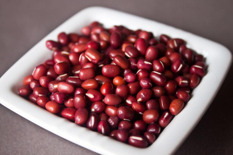 Adzuki beans – remove damp and ease swelling