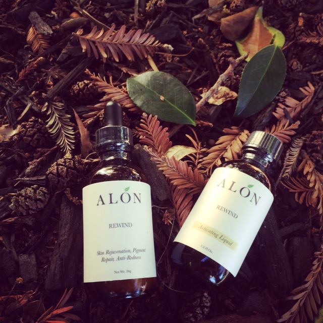 Alon two bottles