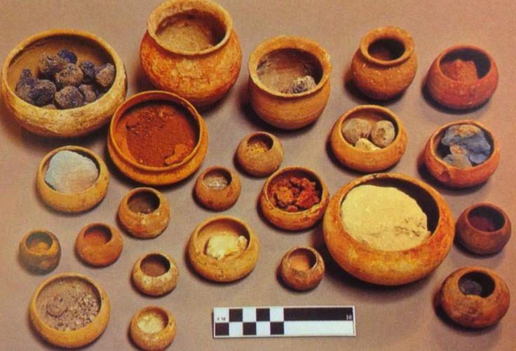 Ancient pigments