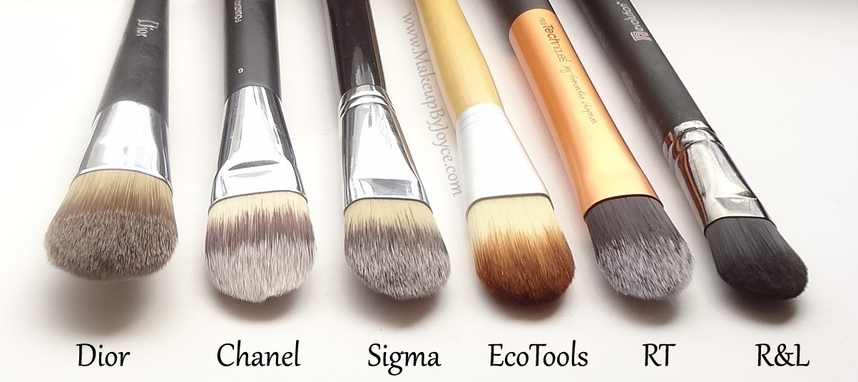 Battle of the Flat Paddle Foundation Brushes Review