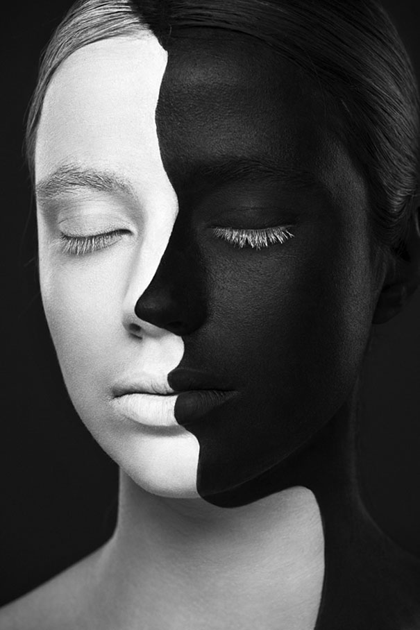 Black and white faces alexander-khokhlov-12