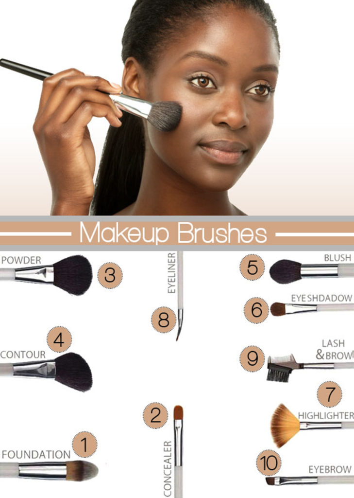 Black girl and brushes gpg
