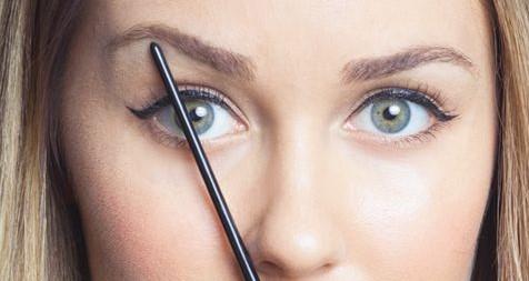 diagonal-arch-eyebrows