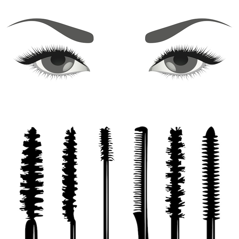 Diferent mascara wands156113096