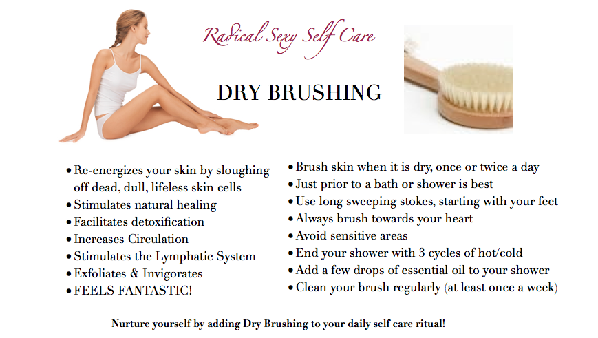 Dry-Skin-Brushing-lady sitting down 12-5-14