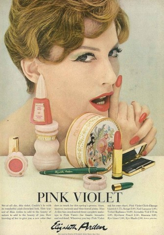 Elizabeth Arden 1950's make up