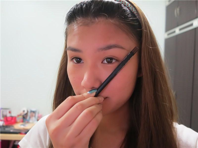 end-of-eyebrow