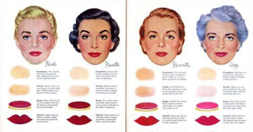 187 Vintage Make Up 1950 S Tutorials Facts And Beauty Tips
