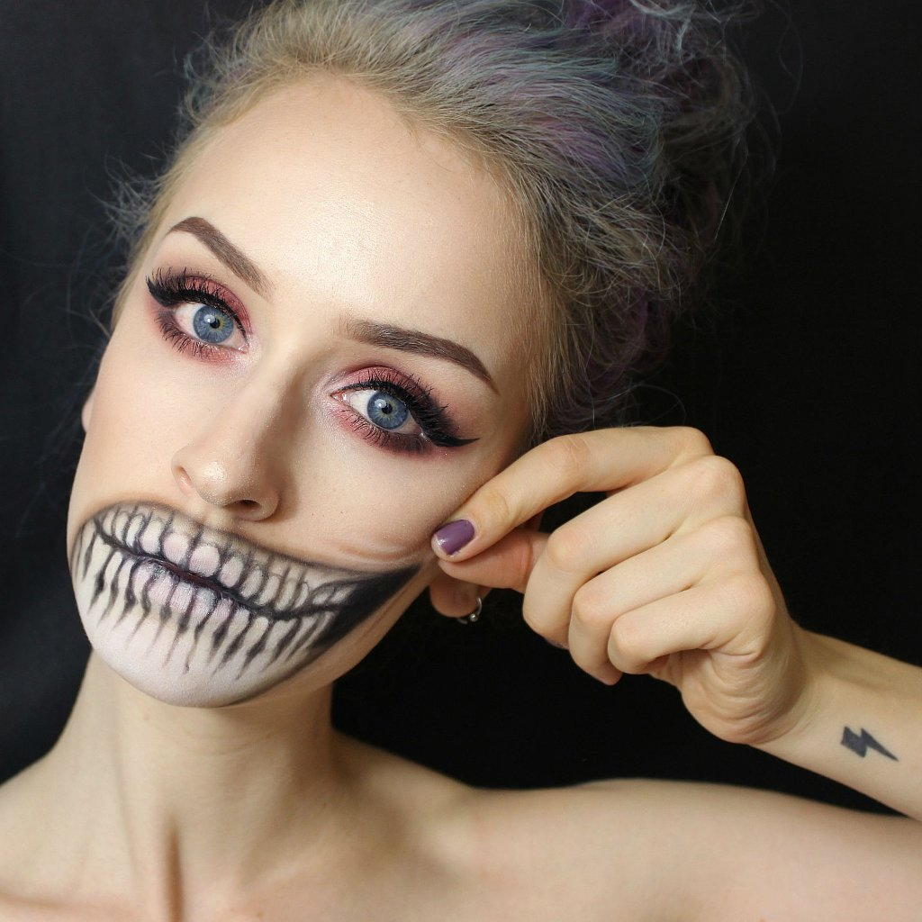 Halloween-Makeup-Ideas-From-Reddit