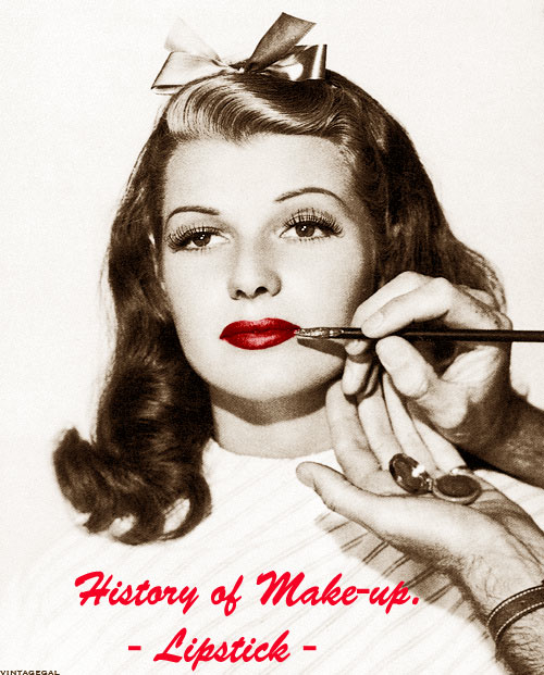 History-of-makeup-Lipstick great vintage poster