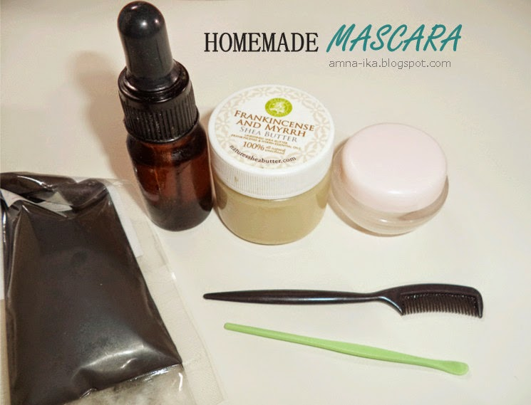 Home made mascara