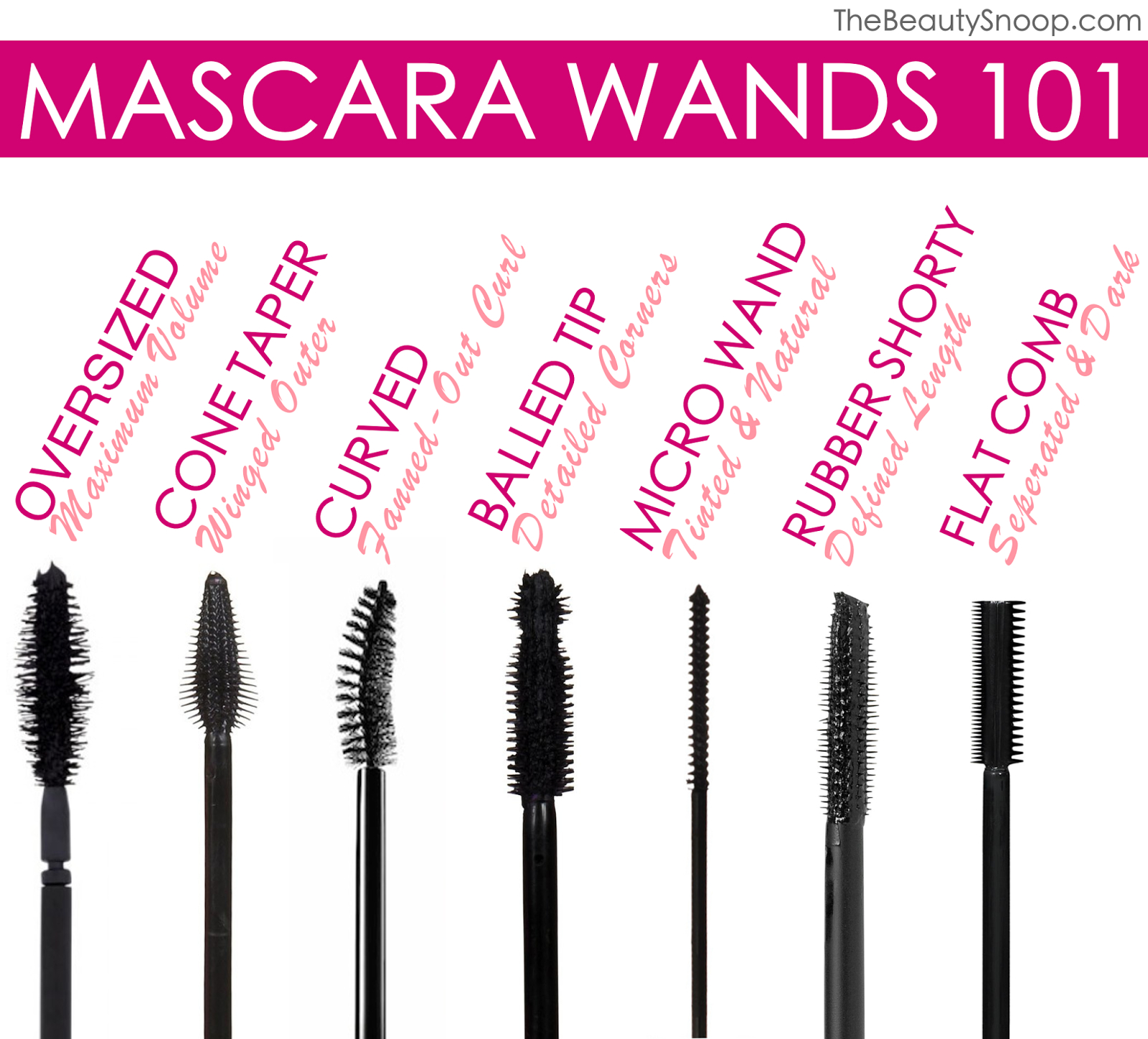 Mascara history tips vegan recipes and tutorials for Mascara with comb wand