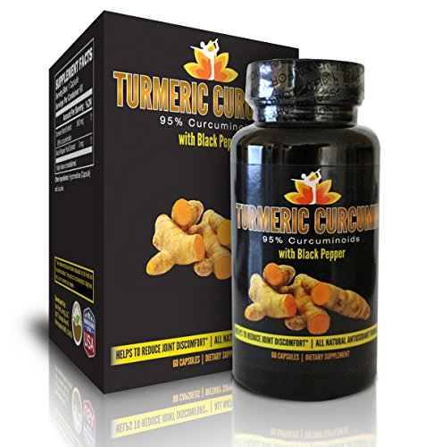 Me First Living Premium Turmeric Curcumin With Black Pepper, 95% Curcuminoid