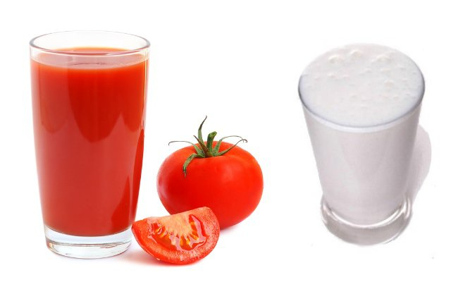 Milk-And-Tomato-Juice