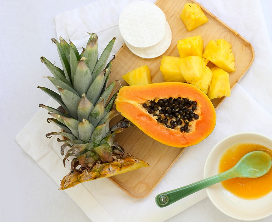 Pineapple-papaya-enzyme-mask