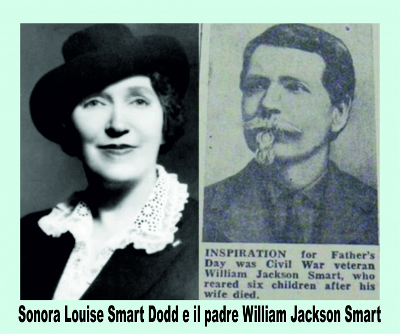Sonora Louise and father William Jackson