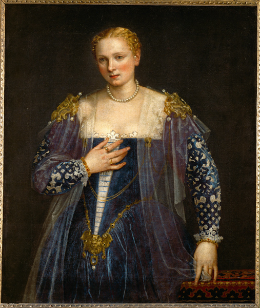"Portrait of a Woman, called ""La bella Nani"". Canvas, 119 x 103 cm. R.F. 2111."