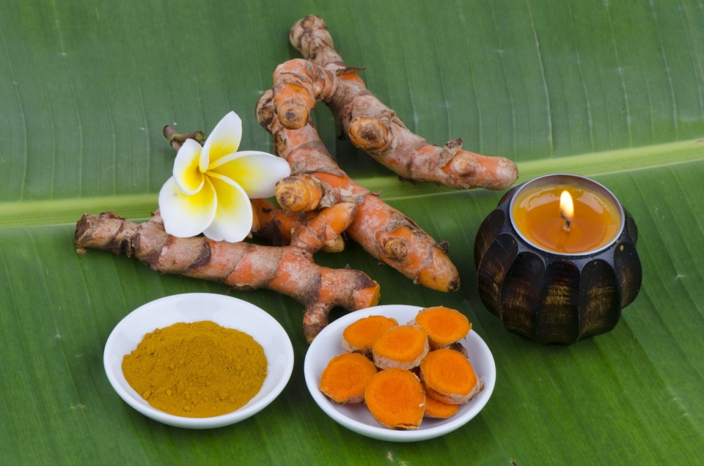 Turmeric and candle 156242813