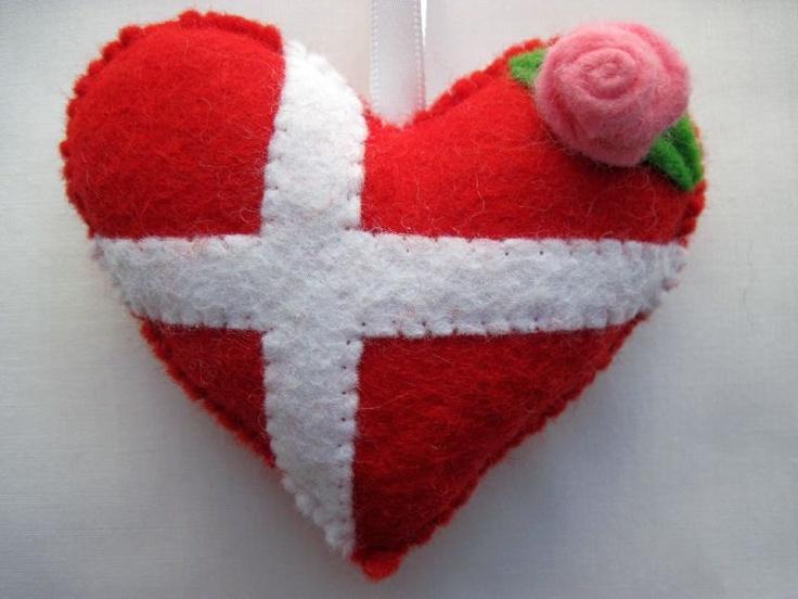 Valentine in Denmark