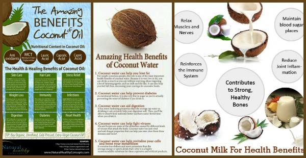 coconut-benefits big chart