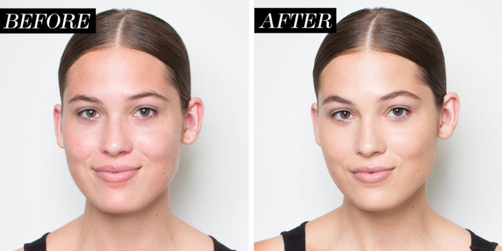 foundation before and after