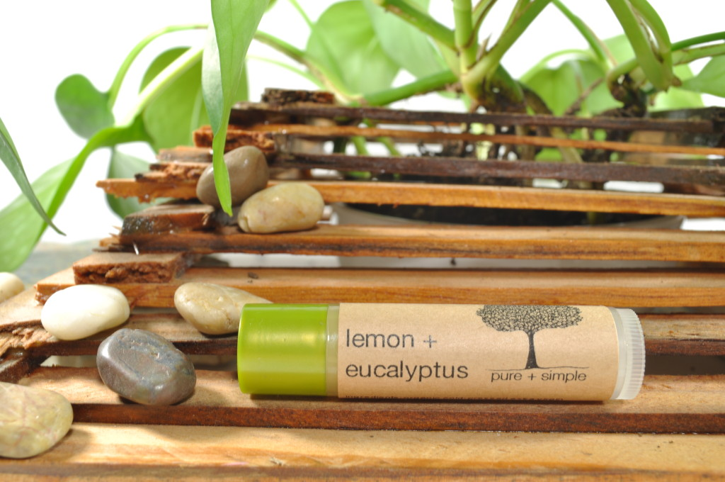 lemon + eucalyptus