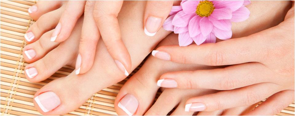 mani-pedi healthy nail