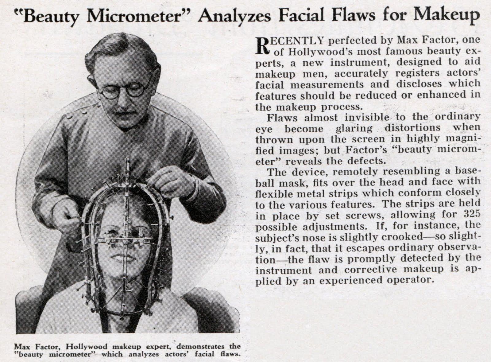 max factor - micrometer