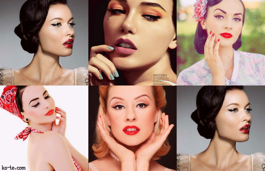 Vintage Make Up 1950's tutorials, facts and Beauty tips Beauty ...