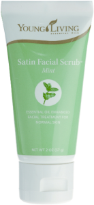 satin facial scrub
