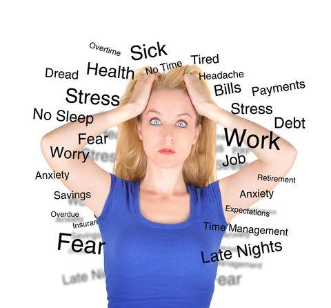stress andskin